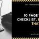 10 page web design checklist. that failure ever will.